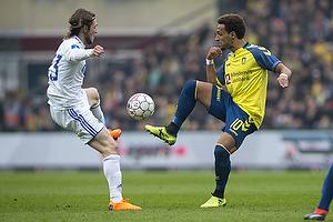 Hany Mukhtar (Br�ndby IF), Rasmus Falk (FC K�benhavn)