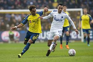 Hany Mukhtar (Br�ndby IF), Zeca (FC K�benhavn)