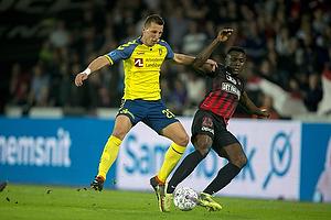 Kamil Wilczek (Br�ndby IF), Bubacarr Sanneh (FC Midtjylland)