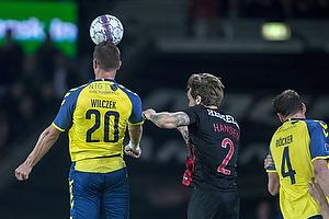 Kamil Wilczek (Br�ndby IF), Kian Hansen (FC Midtjylland)