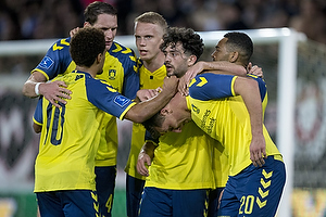 Kamil Wilczek, m�lscorer (Br�ndby IF), Besar Halimi (Br�ndby IF), Hj�rtur Hermannsson (Br�ndby IF), Benedikt R�cker (Br�ndby IF)