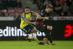 Kevin Mensah (Br�ndby IF), Uidentificeret person (FC Midtjylland)