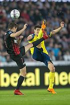 Christian N�rgaard (Br�ndby IF), Jakob Poulsen, anf�rer (FC Midtjylland)