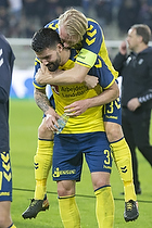Anthony Jung (Br�ndby IF), Johan Larsson, anf�rer (Br�ndby IF)