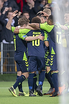 Hany Mukhtar (Br�ndby IF), Kasper Fisker, m�lscorer (Br�ndby IF)