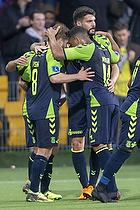 Kasper Fisker, m�lscorer (Br�ndby IF), Kevin Mensah (Br�ndby IF)