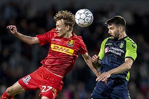 Souheib Dhaflaoui (FC Nordsj�lland), Mikkel Damsgaard (FC Nordsj�lland)