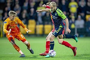 Runar Alex Runarsson (FC Nordsj�lland), Teemu Pukki (Br�ndby IF)