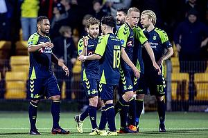 Kevin Mensah, m�lscorer (Br�ndby IF), Kasper Fisker (Br�ndby IF)