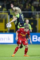 Johan Larsson (Br�ndby IF), Mads Mini Pedersen (FC Nordsj�lland)