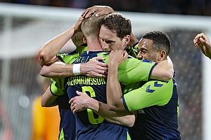 Hj�rtur Hermannsson, m�lscorer (Br�ndby IF), Benedikt R�cker (Br�ndby IF), Kevin Mensah (Br�ndby IF)