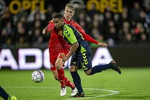 Kevin Mensah (Br�ndby IF), Ulrik Ytterg�rd Jenssen (FC Nordsj�lland)