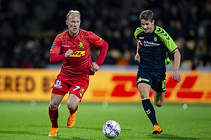 Mikkel Rygaard (FC Nordsj�lland), Andreas Bruus (Br�ndby IF)