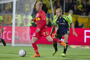 Mikkel Rygaard (FC Nordsj�lland), Teemu Pukki (Br�ndby IF)