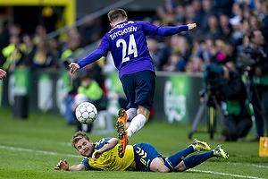 Kasper Fisker (Br�ndby IF), Mads D�hr Tychosen (FC Midtjylland)