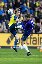 Simon Tibbling (Br�ndby IF), Janus Drachmann (FC Midtjylland)