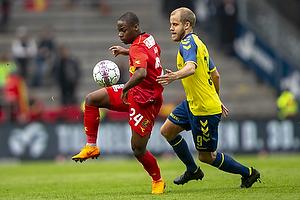 Jonathan Amon (FC Nordsj�lland), Teemu Pukki (Br�ndby IF)