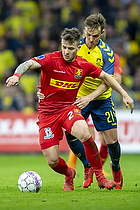 Karlo Bartolec (FC Nordsj�lland), Lasse Vigen Christensen (Br�ndby IF)