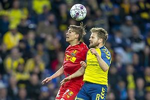 Mikkel Damsgaard (FC Nordsj�lland), Kasper Fisker (Br�ndby IF)