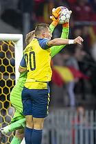 Kamil Wilczek (Br�ndby IF), Runar Alex Runarsson (FC Nordsj�lland)