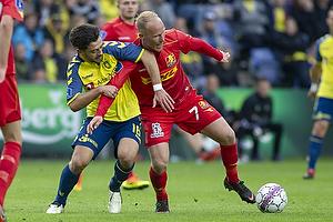 Besar Halimi (Br�ndby IF), Mikkel Rygaard (FC Nordsj�lland)