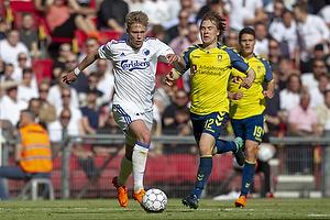 Viktor Fischer (FC K�benhavn), Simon Tibbling (Br�ndby IF)
