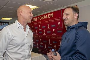Peter S�rensen, cheftr�ner (Silkeborg IF), Alexander Zorniger, cheftr�ner (Br�ndby IF)