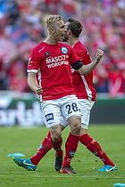Tobias Salquist (Silkeborg IF), Jens Martin Gammelby (Silkeborg IF)