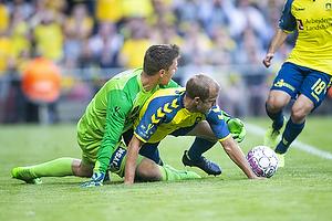 Peter Friis Jensen (Silkeborg IF), Teemu Pukki (Br�ndby IF)