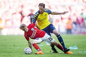 Benedikt R�cker (Br�ndby IF), Magnus Mattsson (Silkeborg IF)