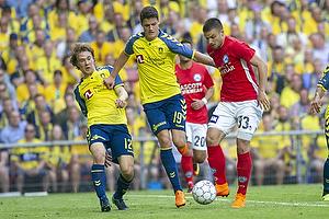 Christian N�rgaard (Br�ndby IF), Vladimir Rodic (Silkeborg IF)