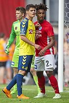 Christian N�rgaard (Br�ndby IF), Sammy Skytte (Silkeborg IF)