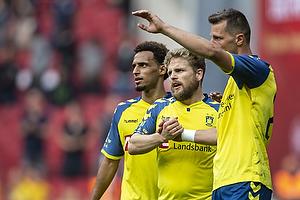 Kamil Wilczek, m�lscorer (Br�ndby IF), Kasper Fisker (Br�ndby IF)