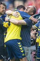 Benedikt R�cker (Br�ndby IF), Alexander Zorniger, cheftr�ner (Br�ndby IF)