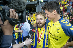 Kasper Fisker (Br�ndby IF), Christian N�rgaard (Br�ndby IF)