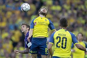 Kasper Fisker (Br�ndby IF), Jakob Poulsen (FC Midtjylland)