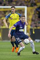 Andreas Bruus (Br�ndby IF), Patrick Banggaard Jensen (FC Midtjylland)