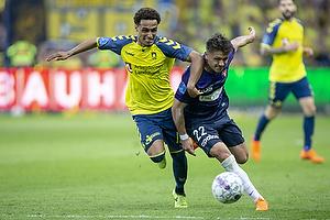 Hany Mukhtar (Br�ndby IF), Mikkel Duelund (FC Midtjylland)