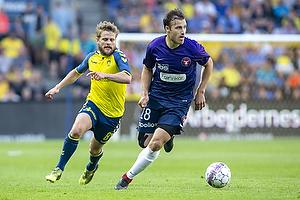 Erik Sviatchenko (FC Midtjylland), Kasper Fisker (Br�ndby IF)