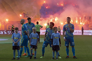 Teemu Pukki (Br�ndby IF), Anthony Jung (Br�ndby IF), Hany Mukhtar (Br�ndby IF), Kamil Wilczek (Br�ndby IF)