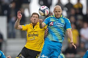 Teemu Pukki (Br�ndby IF), Mathias Nielsen (AC Horsens)
