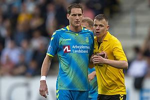 Benedikt R�cker (Br�ndby IF), Mads Juel Andersen (AC Horsens)