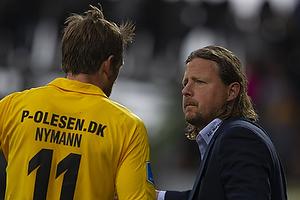 Peter Nymann (AC Horsens), Bo Henriksen, cheftr�ner (AC Horsens)