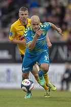 Teemu Pukki (Br�ndby IF), Mads Juel Andersen (AC Horsens)
