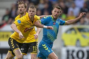 Kamil Wilczek (Br�ndby IF), Mads Juel Andersen (AC Horsens)