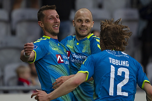 Kamil Wilczek, m�lscorer (Br�ndby IF), Teemu Pukki (Br�ndby IF), Simon Tibbling (Br�ndby IF)