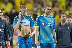 Hj�rtur Hermannsson (Br�ndby IF), Paulus Arajuuri (Br�ndby IF)