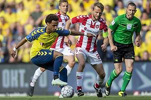 Hany Mukhtar (Br�ndby IF), Rasmus W�rtz (Aab)