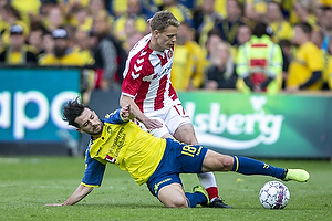 Besar Halimi (Br�ndby IF), Kasper Kusk (Aab)