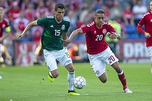 Yussuf Poulsen (Danmark), Hector Moreno (Mexico)